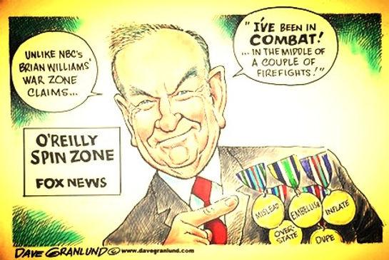 bill o'relly spin zone fox news