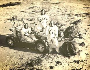 moon hoax moon rover