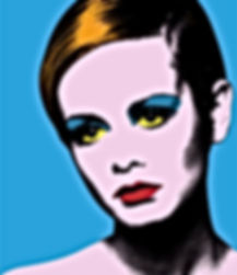 Andy Warhol Twiggy