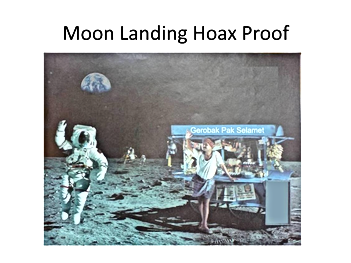 moon landing hoax proof