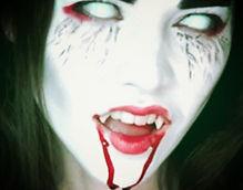 vampire girl blood