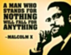 malcolm x a man who