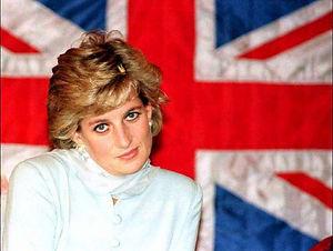 Lady Diana Union Jack