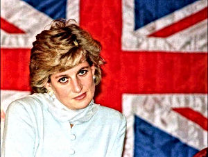 Lady Diana Union Jack
