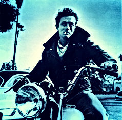 james dean motorcycle