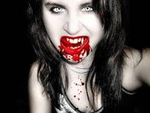 bloody girl vampire