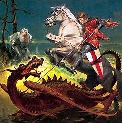 Saint George And Dragon