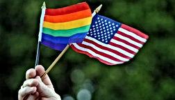 USA Rainbow Flags