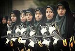 iranian women military ready for war