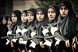 iranian women military ready for war
