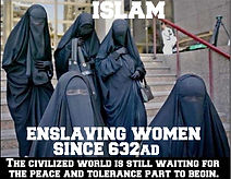 islam enslaving women since 632 ad
