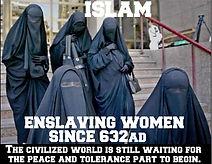 islam enslaving women since 632 ad