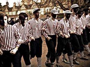 eton's black and white minstrals