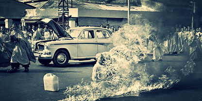 Anti War Protest Buddist Monk