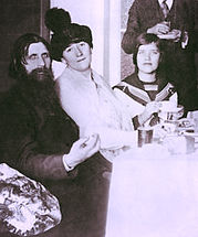 rasputin sweet talking the ladies