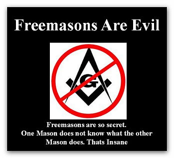no freemasons