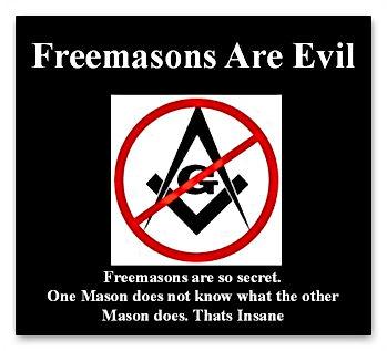 no freemasons