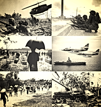 vietnam montage of us military pictures