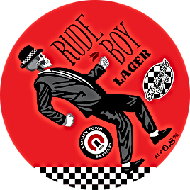 rude boy lager 6.8%