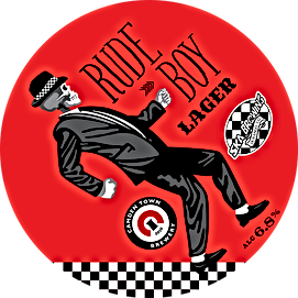 rude boy lager 6.8%