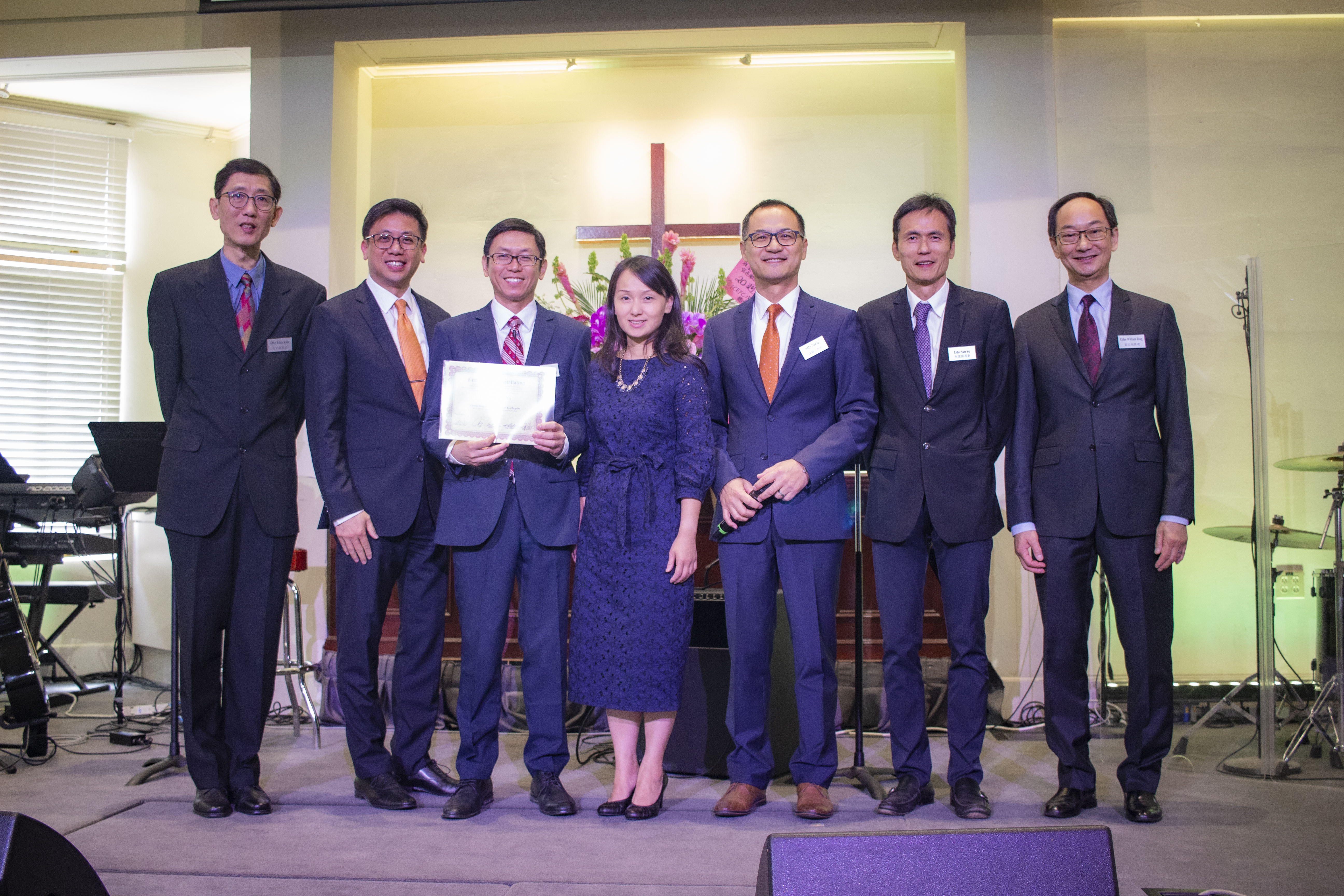 2019 Senior Pastor Ordination