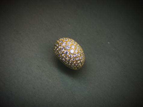 Brillant Kuppel-Ring