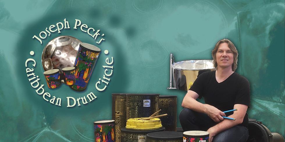 Caribbean Drum Circle with Joseph Peck Online - LAPL