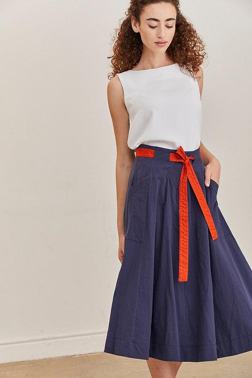 חצאית לורן - כחול