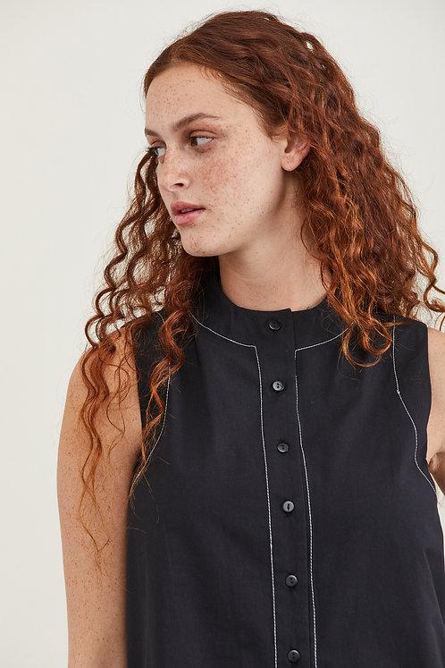 חולצת מורן - שחור