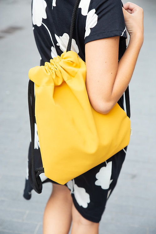 תיק שק - צהוב