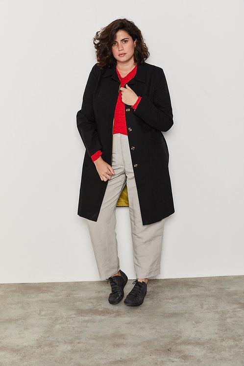 מעיל ג'וליה - שחור