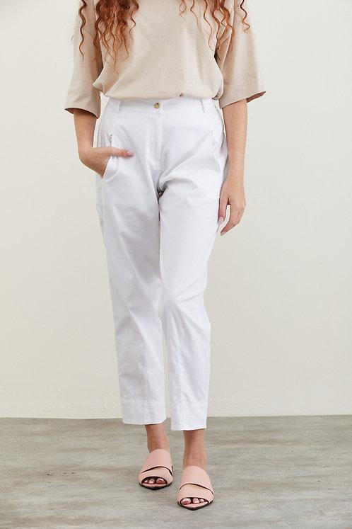 מכנסי נעמה - לבן