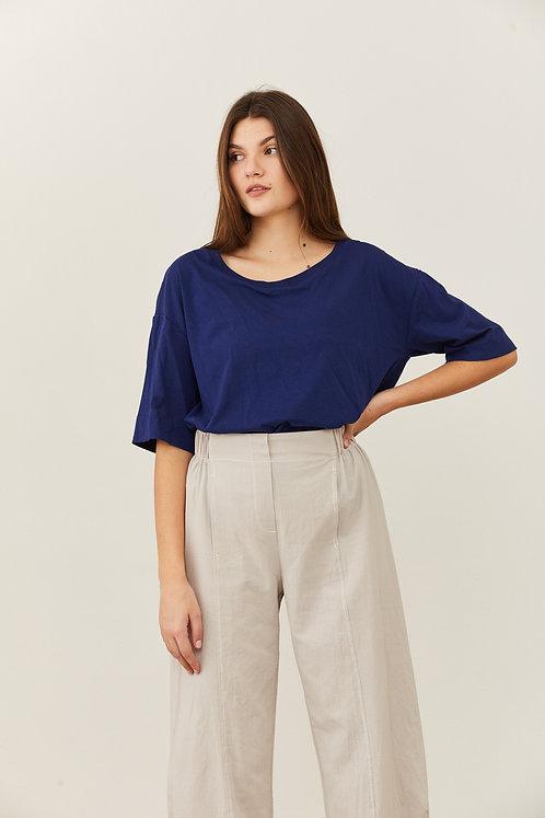 חולצת אוסנת - כחול