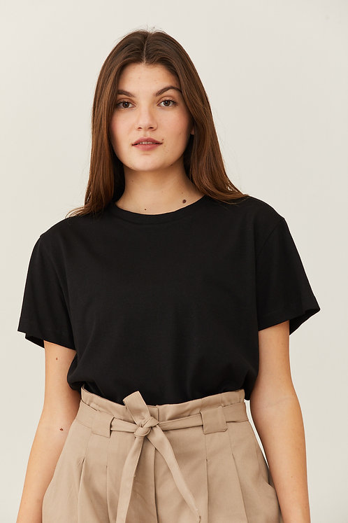 חולצת דבי - שחור