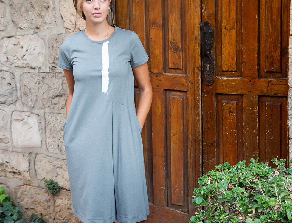 שמלת שני - אפור