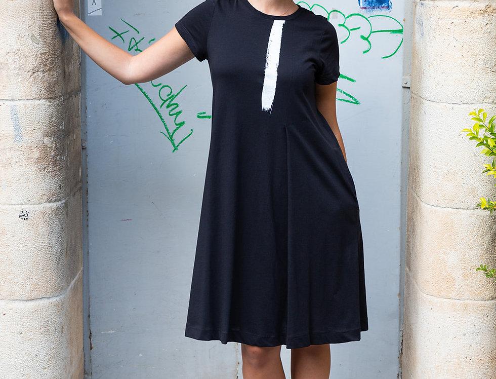 שמלת שני - שחורה