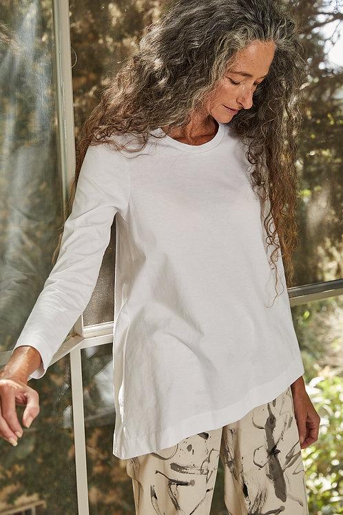 חולצת מיתר - לבן
