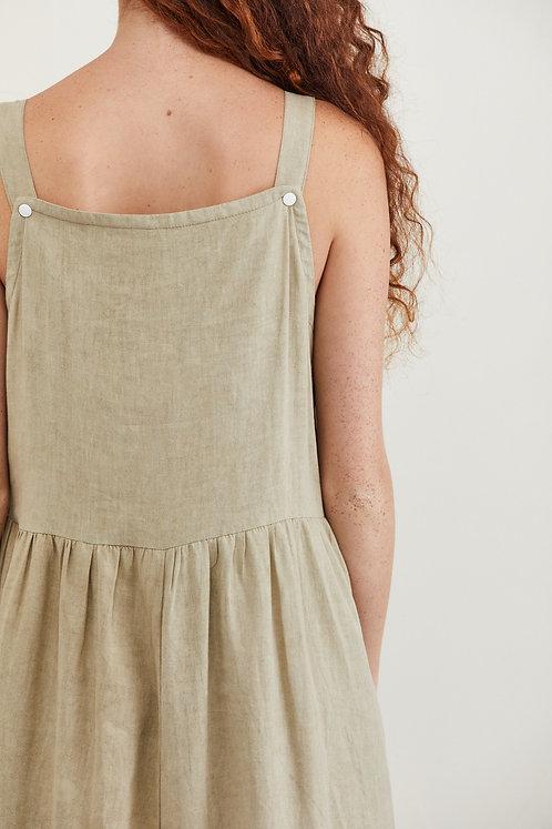 שמלת ניקי - חאקי