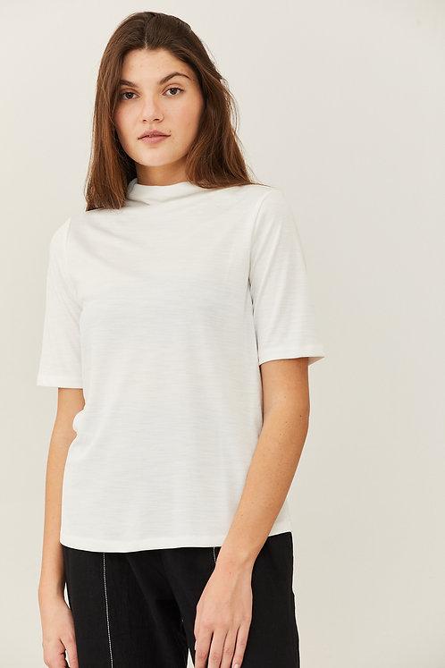 חולצת מיקה - שמנת