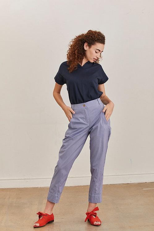 מכנסי נעמה - משבצות קטנות