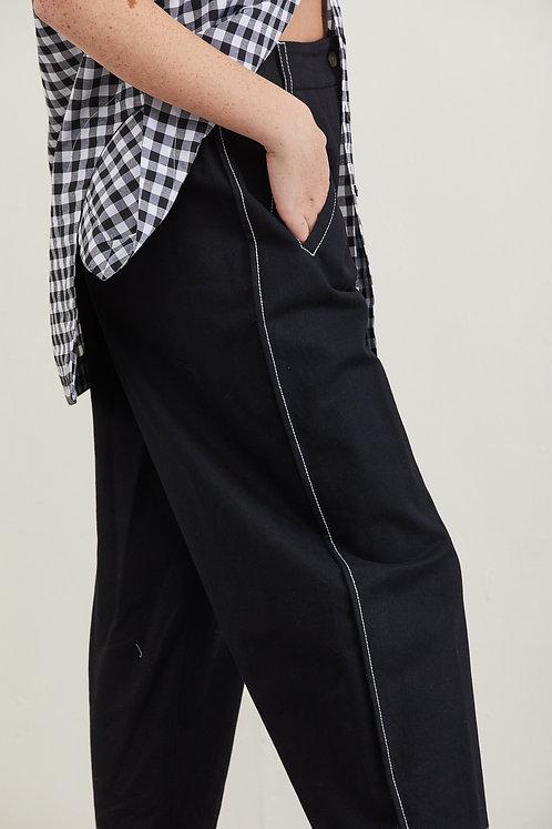 מכנסי רומי - שחור