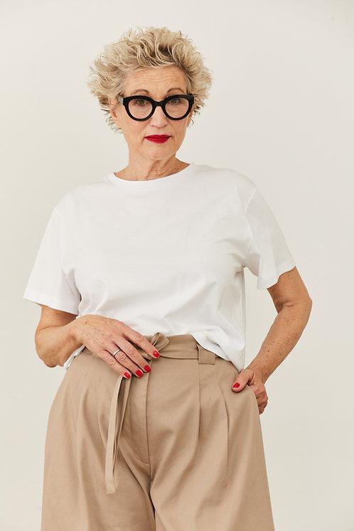חולצת דבי - לבן