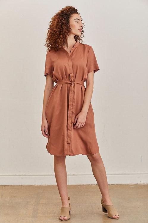 שמלת אפי - ורוד עתיק