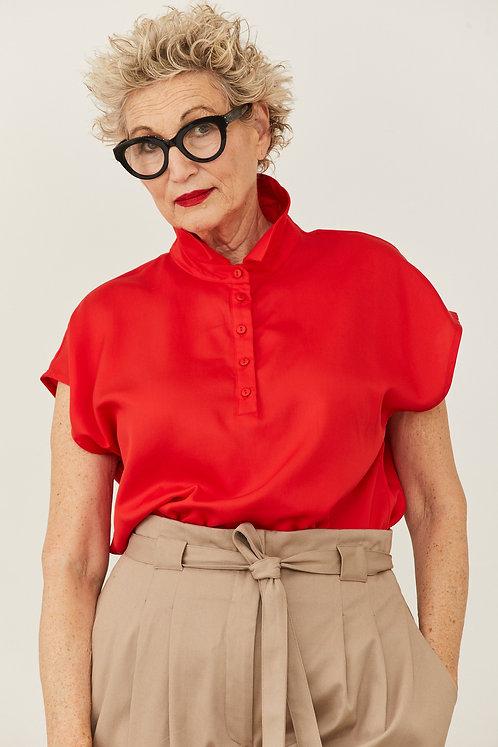 חולצת אנני - אדום
