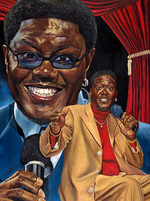 BERNIE MAC  limited edition print of original 36x48