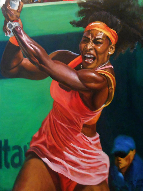 Matted 11x14 print of Serena