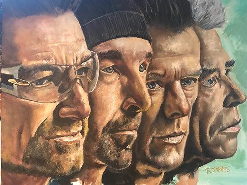 U2 print