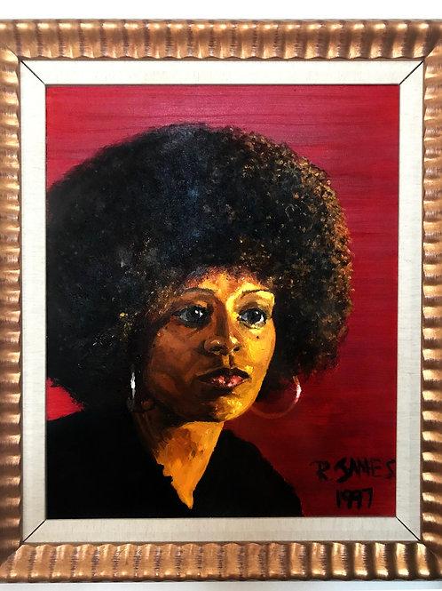 Angela Davis (framed)