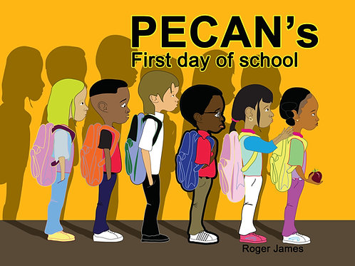 Pecan's First Day of School