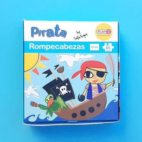 Rompecabezas Pirata